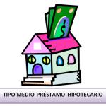 Tipo medio préstamos hipotecarios adquisición vivienda libre diciembre 2012