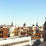 Vistas de los tejados del centro de Madrid desde Hotel Palacio San Martín